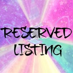 RESERVED Listing ES**Only~Please do not purchase if this is not you