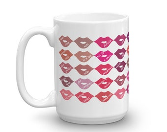 LipSense 50 Color Coffee Mug