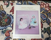 Vintage 1990 Madame Alexander 14 quot Girl Victorian Doll Patterns Book