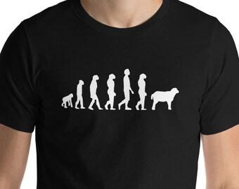 6f0761e21 Evolution Of Man Monkey Sheep Funny Political Gift Short Sleeve Unisex T- Shirt