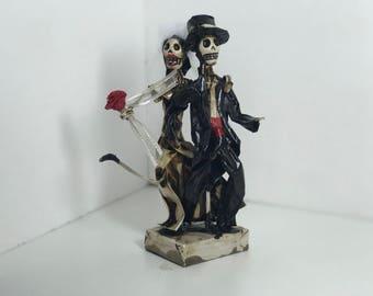 Papel Mache- Wedding Couple