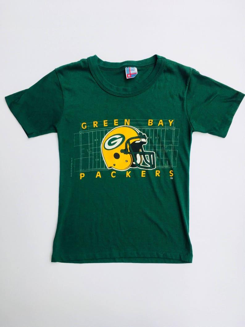 95b4f92b043 Killer Green Bay Packers Small Vintage T shirt Super soft | Etsy