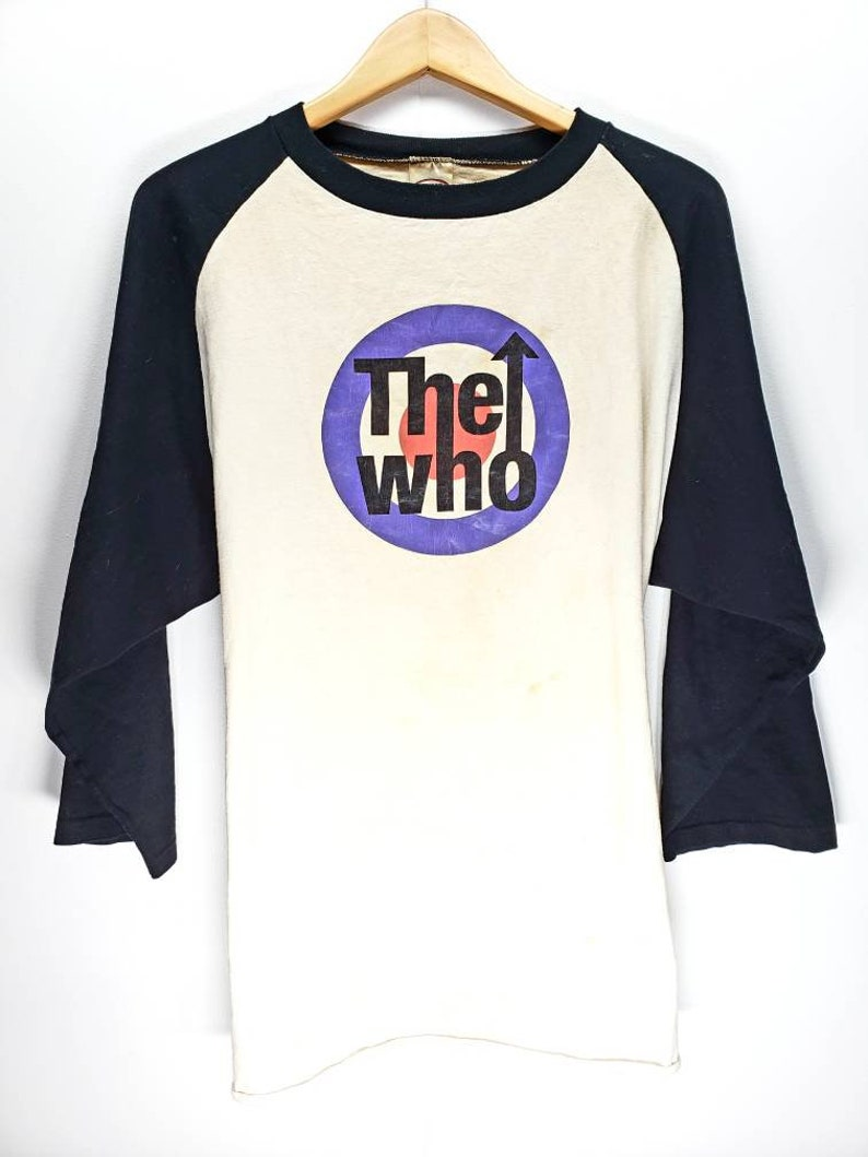 f04f8e44 The Who True Vintage Baseball T Shirt classic rock Tommy   Etsy