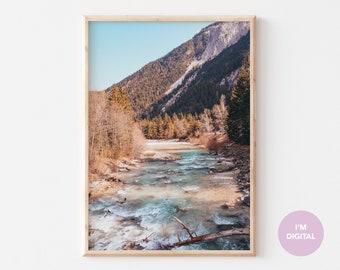 Austria Print | Bavaria Print | Tyrol Print | Back to school | Europe Print | Wall Decor | Home Decor | Dorm | Printable Art | Digital Art