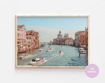 Venice Print | Italy Print | Ocean Print | Back to school | Europe Print | Wall Decor | Home Decor | Dorm | Printable Art | Digital Art