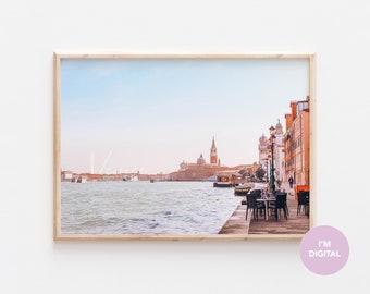 Venice Print | Italy Print | Sunset Print | Back to school | Europe Print | Wall Decor | Home Decor | Dorm | Printable Art | Digital Art