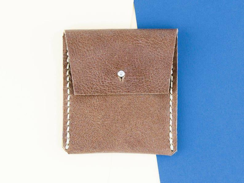 ad5c83d9acf5 Porte-monnaie en cuir pochette en cuir de pièce de monnaie