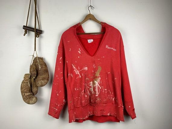 Thrashed Champion Sweatshirt | Vintage | Reverse W