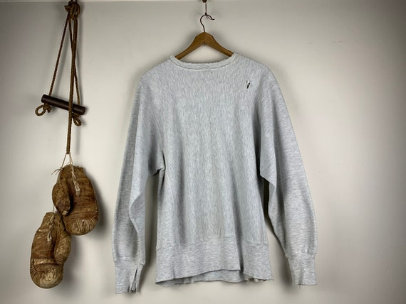 Thrashed Champion Sweatshirt | Vintage | Reverse … - image 5