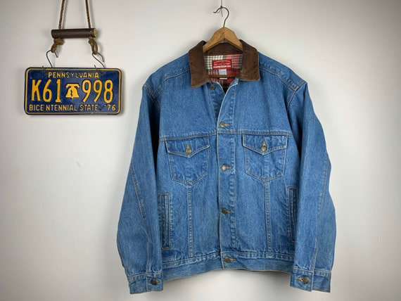 Vintage Denim Marlboro Jacket