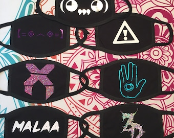 Sugical Style - Custom EDM/Rave Mask (please read item details before ordering)