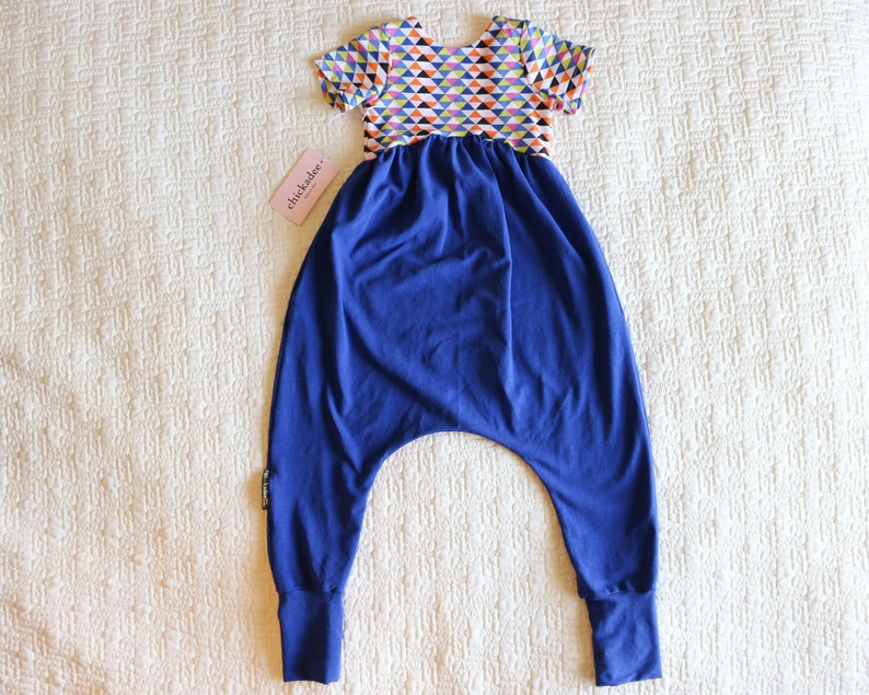 ae48d1142ffc 4T Ready To Ship Low Back Harem Romper Girls romper Toddler