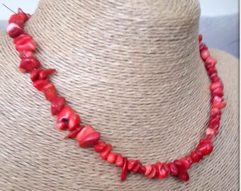 coral, coral necklace,broken coral, korallenkette, stylish necklace, special day gift, love,