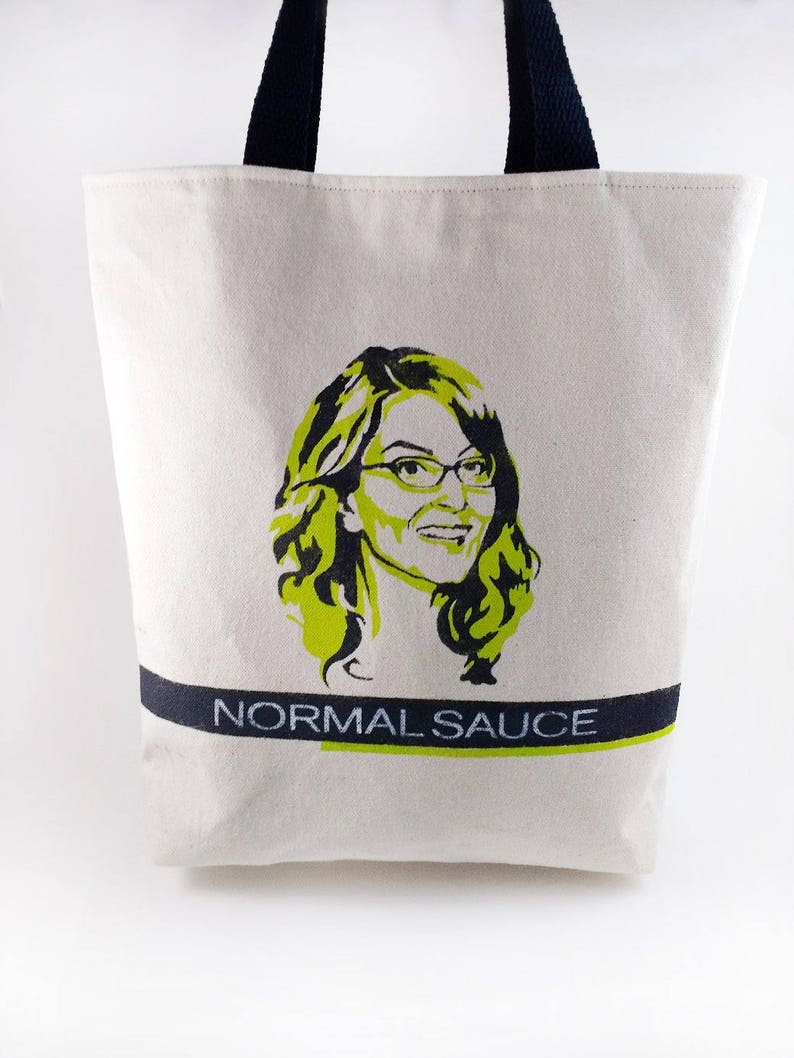 930a91ee948 Normal Sauce tote bag purse Liz Lemon 30 Rock funny gift for her girlfriend  gift gift for woman funny gift canvas tote Mother's day mom gift