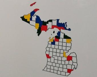 Rv state map | Etsy