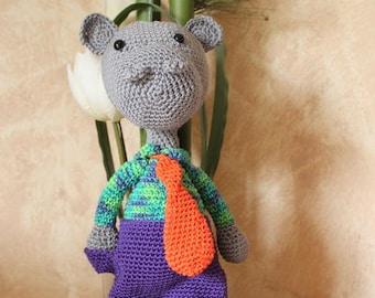 Mr HIPPO - Amigurumi