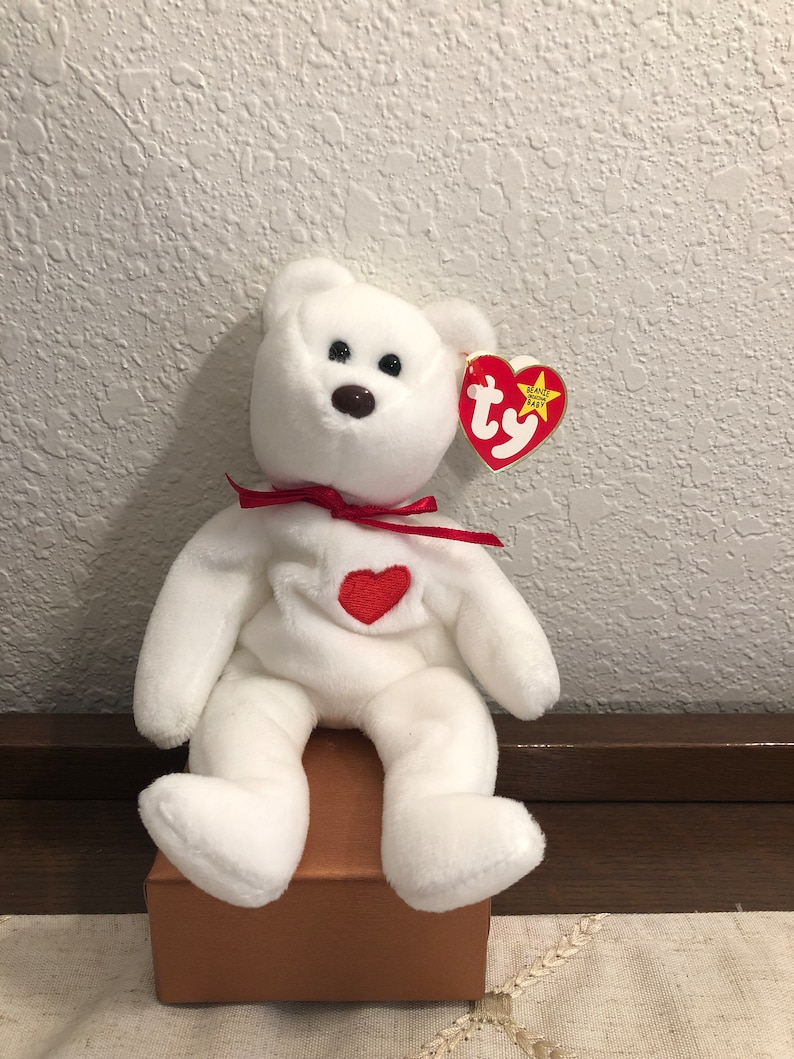50c951d3d1c Ty VALENTINO Beanie Baby With All Errors 5th