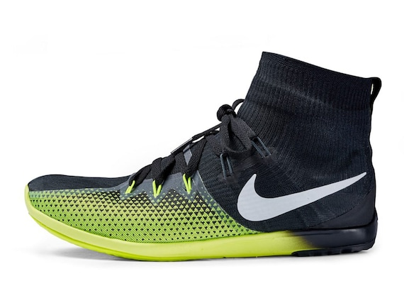 Nike Zoom XC Victory 4 Black and Lime