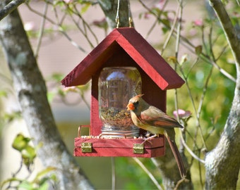 This Bird Feeder works! Feed the birds with this time tested feeder!