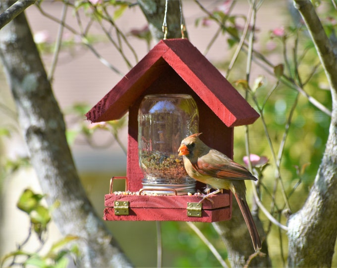 Featured listing image: This Bird Feeder works! Feed the birds with this time tested feeder!