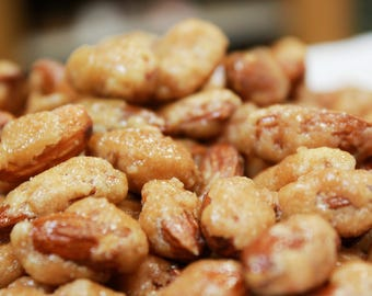 Butter Toffee Almonds by Its Delish