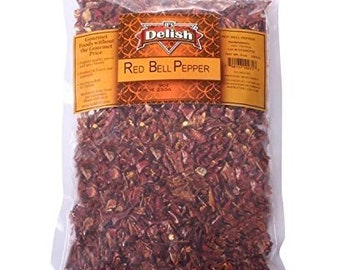 Dried Red Bell Peppers By It's Delish