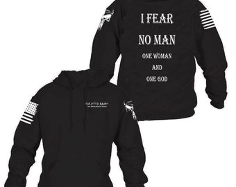 FEAR NO EVIL Enlisted Ranks graphic hoodie  836e2ef50