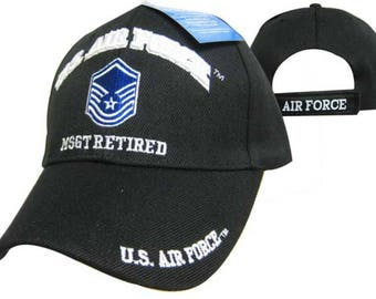 c8862b1093f US Air Force MSGT Retired Ball Cap