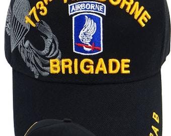 173rd Airborne Brigade Desert Camo cap