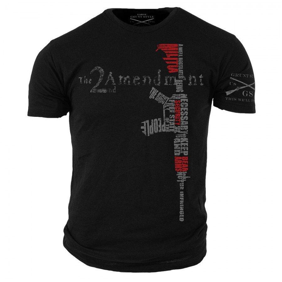 bb08105d 2nd Amendment-Grunt Style graphic t-shirt | Etsy
