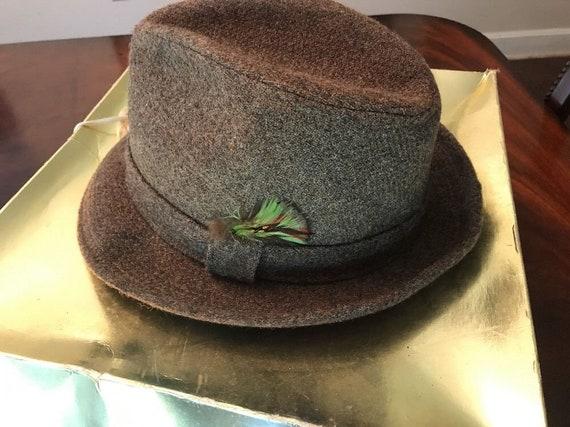 Vintage Kangol Wool Fedora Mens Hat  5f8db518b0f8