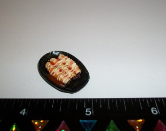 1:12 One Inch Scale Dollhouse Miniature Handcrafted Enchilada Dinner Food for the Doll House - 1474