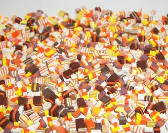 25 Dollhouse Miniature Handcrafted Autumn Fall Thanksgiving Hard Candy Sweet Dessert Food ~ reference Barbie Doll Hand 704