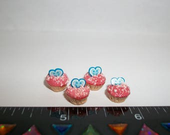 1:12 Scale New Dollhouse Miniature Handcrafted Cupcakes Dessert Food 960