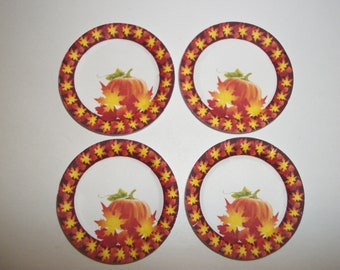 Dollhouse Miniature Thanksgiving/ Fall Paper Plates / Napkins/ Placemats/ Doll Food