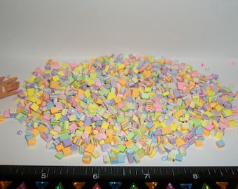 25 Dollhouse Miniature Handcrafted Easter Hard Candy Sweet Dessert Food