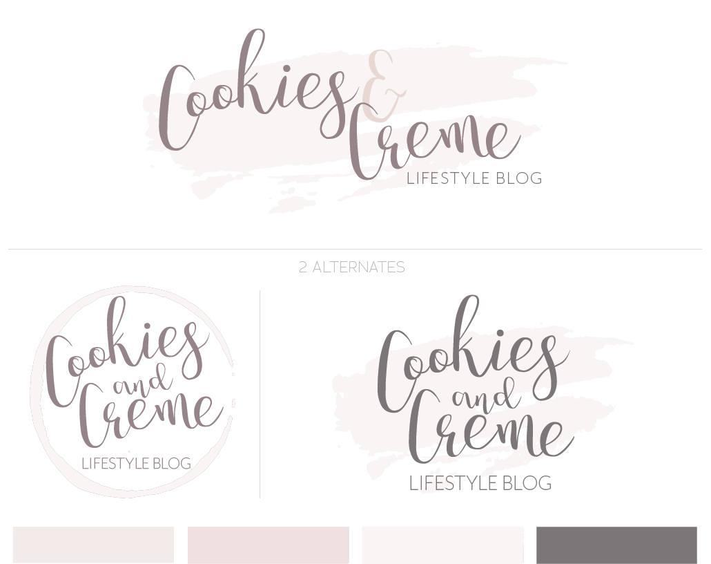Blog Logo Design Photography Logo Premade Logo Logo Designs Blog Header Design Neutral Color Logo Cute Logo Branding Premade Design