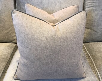 Zimmer and Rohde wool covered cushion