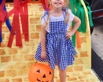 Blue Gingham Dorothy Dress Costume