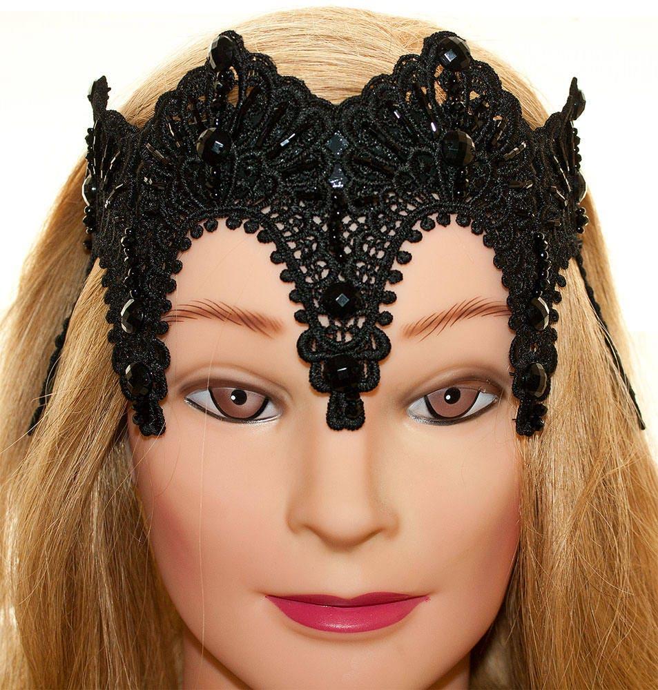 böse Königin Krone schwarze Krone Geschlecht und die Stadt