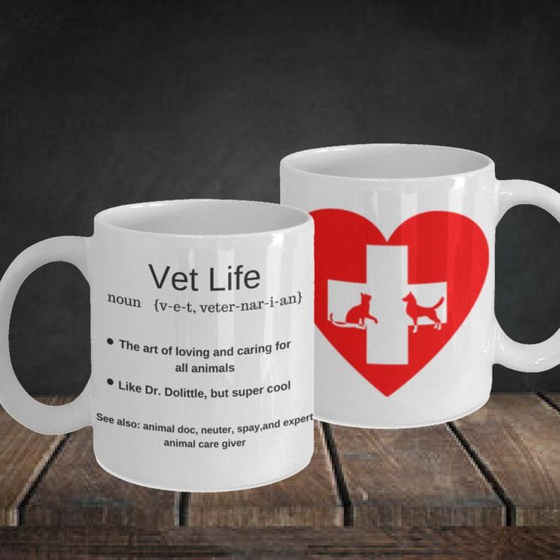 Handmade Mugs With Sayings Veterinarian Gift Best Selling