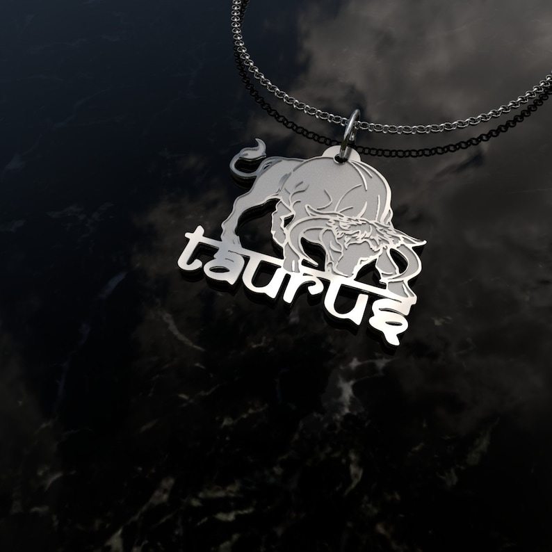 ad23d20ea3988 Taurus Zodiac Necklace Top Selling Items- Popular Right Now Zodiac Jewelry-  Black Friday SVG Most Sold Items- Astrology Sister In Law Gift