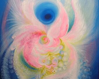 Angel....Healing home decoration...Spiritual art