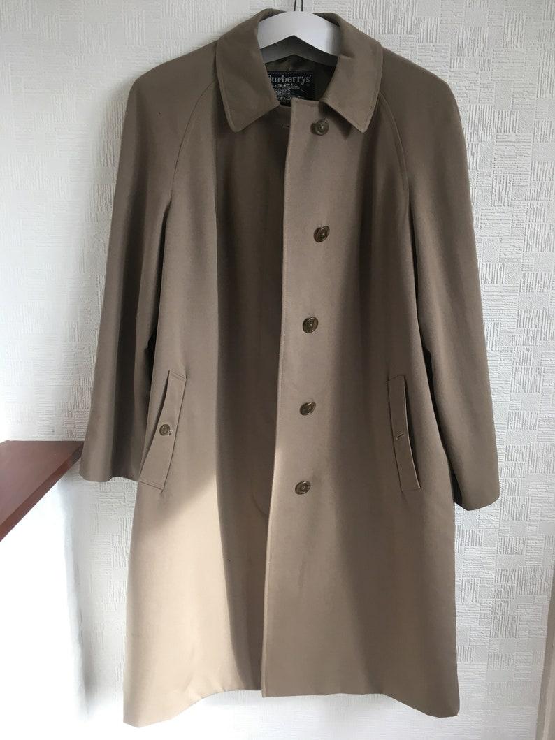 f0625a5534cd Lady s Burberry coat vintage Burberry Wool mac