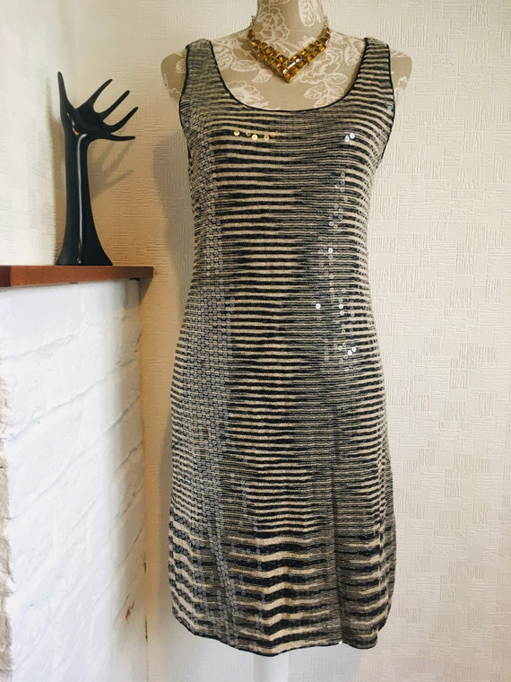 MISSONI sequin dress/Retro Missoni/Fully embellish