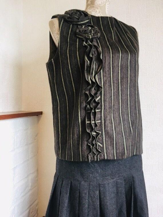 KENZO Paris Collection Rare Design Wool Jacket Made in Japan
