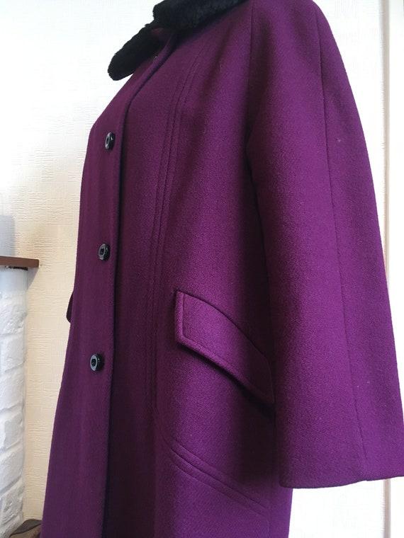 Mantelschwarz MantelModsFranzösisch Damen Mantel SSchwarz wolle Retroeinzelne Zweireiher eine Jahrgang70 MantelGröße MantelFranzösisch Linie f76mYyIbgv