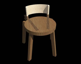 Wooden Stool-Prototype