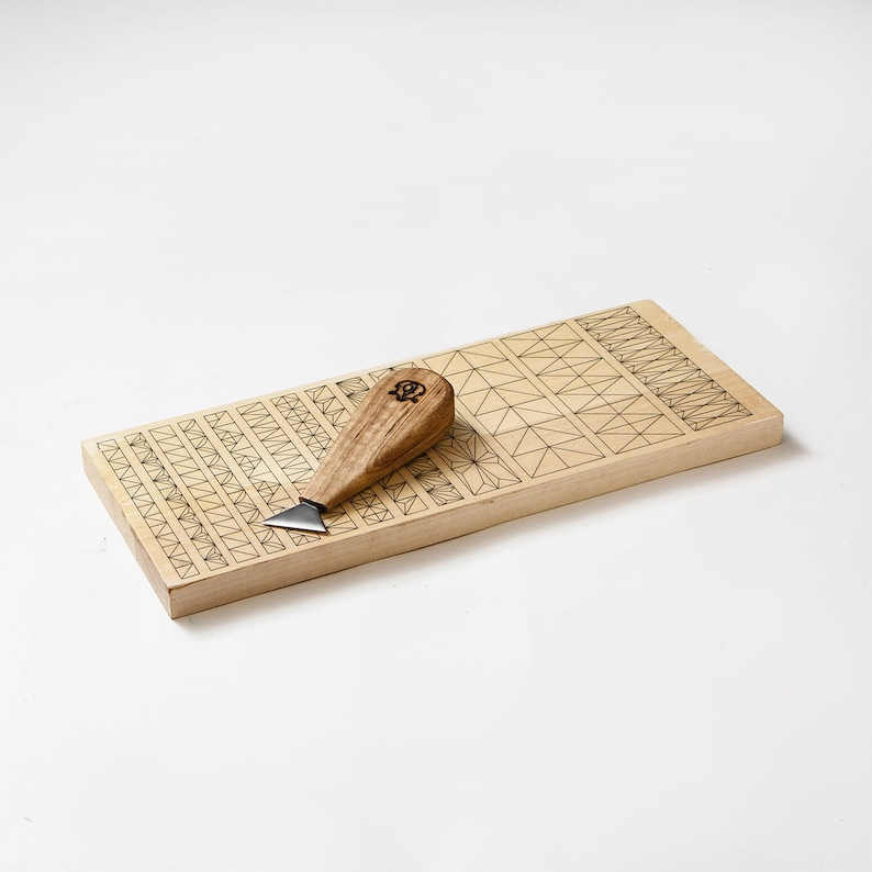 Wood carving set with basswood practice board for beginner etsy