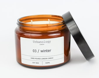 Large Soy Candle - Winter (500ml)